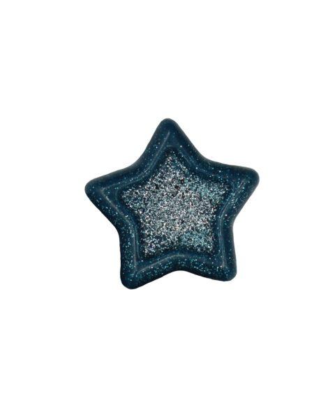 Μπλε Χριστουγεννιάτικο Σαπουνάκι Σε Σχήμα Αστέρι – 25gr