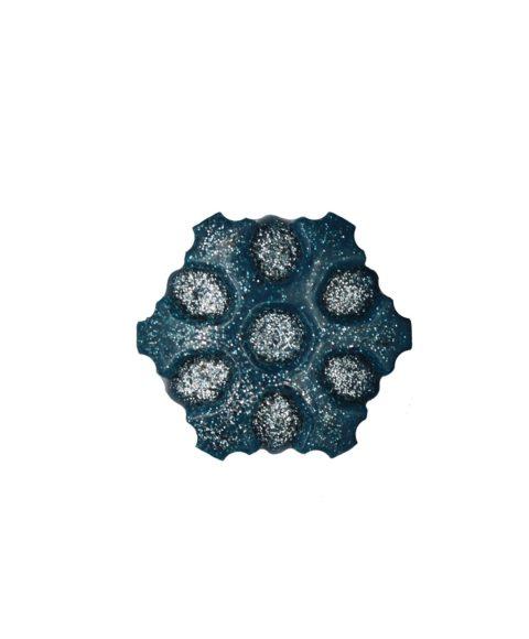 Μπλε Χριστουγεννιάτικο Σαπουνάκι Σε Σχήμα Νιφάδα – 25gr