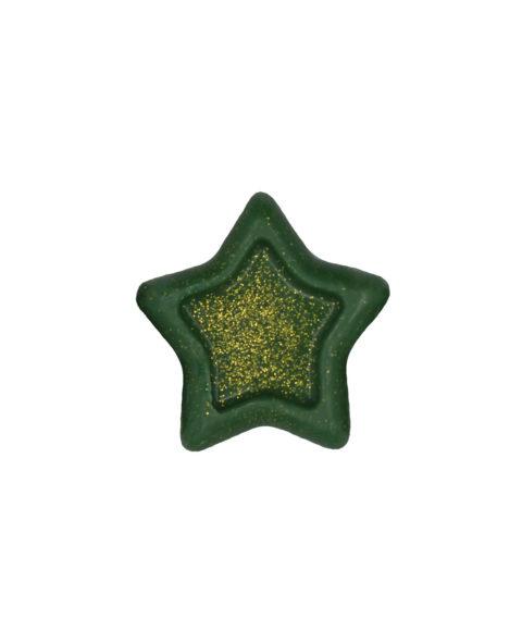 Πράσινο Χριστουγεννιάτικο Σαπουνάκι Σε Σχήμα Αστέρι – 25gr