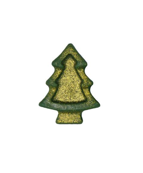 Πράσινο Χριστουγεννιάτικο Σαπουνάκι Σε Σχήμα Έλατο – 25gr