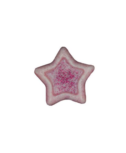 Ροζ Χριστουγεννιάτικο Σαπουνάκι Σε Σχήμα Αστέρι – 25gr
